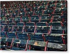 Fenway Park Grandstand Seats Acrylic Print by Joann Vitali