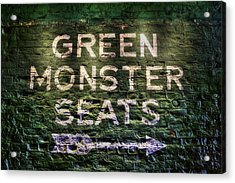 Fenway Park Green Monster Seats Acrylic Print