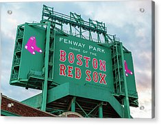 Fenway Park - Home Of The Red Sox Acrylic Print