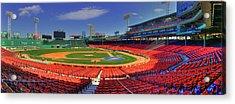 Fenway Park Interior Panoramic - Boston Acrylic Print