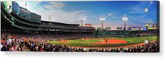 Fenway Park Panoramic - Boston Acrylic Print