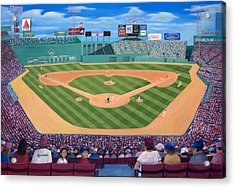 Fenway Park Acrylic Print by Richard Ramsey