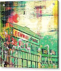Fenway Park V3 Acrylic Print