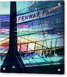 Fenway Park V4 Acrylic Print