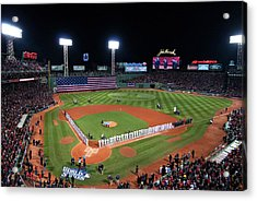 Fenway Park World Series 2013 Acrylic Print