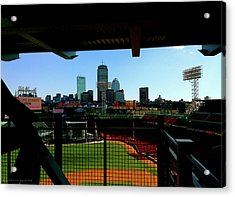 Acrylic Print featuring the photograph Fenway Park, Xi  by Iconic Images Art Gallery David Pucciarelli
