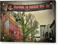 Fenway Park Yawkey Way Sign Acrylic Print