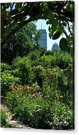 Fenway Victory Gardens In Boston Massachusetts  -30951-30952 Acrylic Print