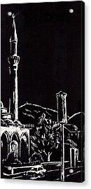 Ferhat-pasha Mosque  Acrylic Print by Ramo Sabanovic