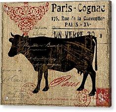 Ferme Farm Cow Acrylic Print