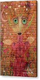 Fern Acrylic Print by Julie Engelhardt