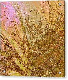 Fern Series 32 Bubbles Rise Acrylic Print