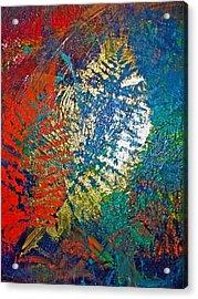 Ferns Acrylic Print by Jennifer Addington