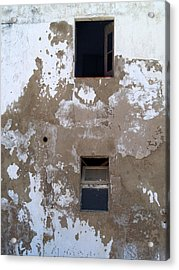 Ferragudo Window Acrylic Print
