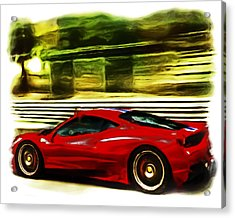 Ferrari 13a Acrylic Print
