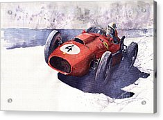 Ferrari 246 Mike Hawthorn Acrylic Print