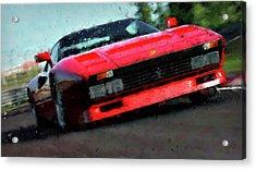 Ferrari 288 Gto - 34  Acrylic Print by Andrea Mazzocchetti