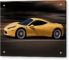 Ferrari 458 Italia Acrylic Print
