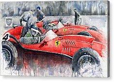 Ferrari Dino 246 F1 1958 Mike Hawthorn French Gp  Acrylic Print