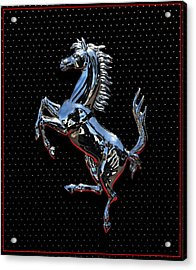 Ferrari Emblem 2 Acrylic Print