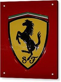 Ferrari Emblem 4 Acrylic Print