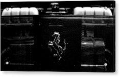 Ferrari Engine Grill Acrylic Print
