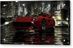 Acrylic Print featuring the photograph Ferrari F12berlinetta by Louis Ferreira