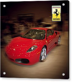 Ferrari F430 - The Red Beast Acrylic Print