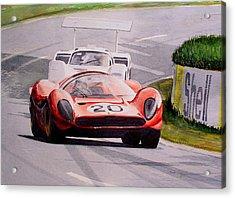 Ferrari P4 Le Mans Acrylic Print