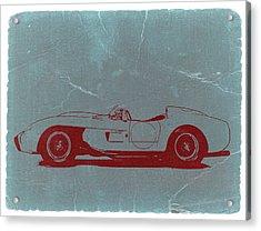 Ferrari Testa Rosa Acrylic Print by Naxart Studio