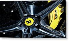 Ferrari Wheel I Acrylic Print