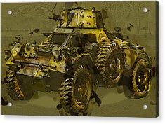 Ferret Scout Car Acrylic Print