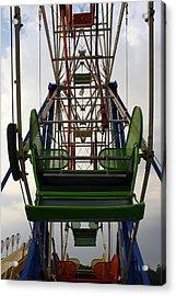Ferris Wheel Acrylic Print by Anne Babineau