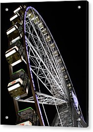 Ferris Wheel At Night 16x20 Acrylic Print