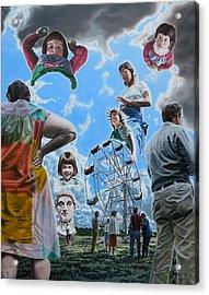 Ferris Wheel Acrylic Print by Dave Martsolf