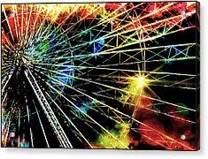 Ferris Wheel, Grand Roue Acrylic Print