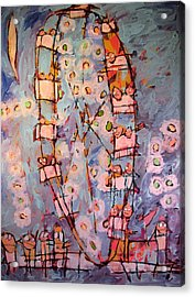 Ferris Wheel Of Life Sold Acrylic Print