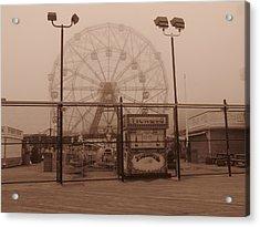 Ferris Wheel Acrylic Print by Peter Aiello