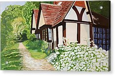 Ferry Cottage Acrylic Print by Joanne Perkins