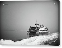 Ferry Acrylic Print by Joseph Westrupp