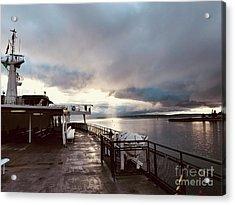 Ferry Morning Acrylic Print