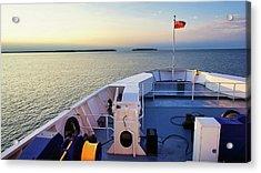 Ferry On Acrylic Print