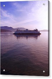 Ferry Ride Through The San Juans Acrylic Print by Karla DeCamp