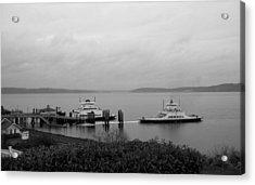 Ferry Acrylic Print by Ty Nichols