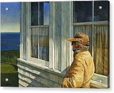 Ferry Watcher Acrylic Print