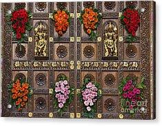 Festival Gopuram Gates Acrylic Print