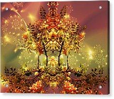 Festive Fractal Acrylic Print