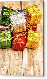 Festive Greeting Gifts Acrylic Print by Jorgo Photography - Wall Art Gallery