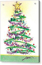 Festive Holiday Acrylic Print