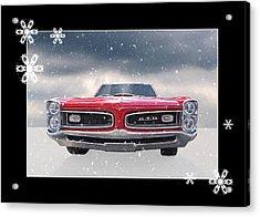 Festive Pontiac Gto Acrylic Print